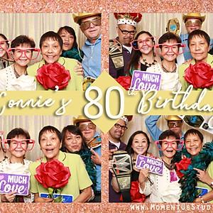 Connie's 80th Birthday