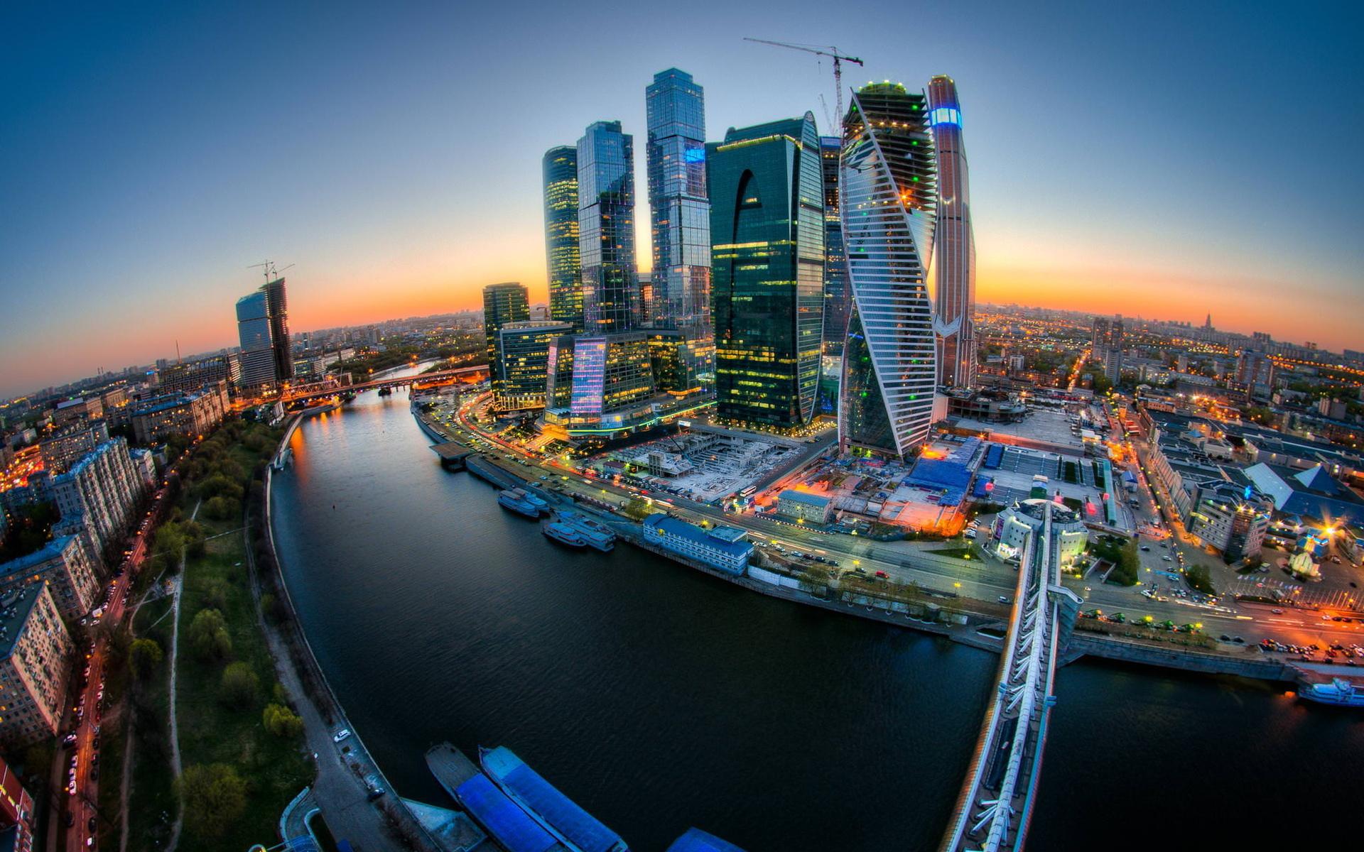 ناطحات السحاب في موسكو