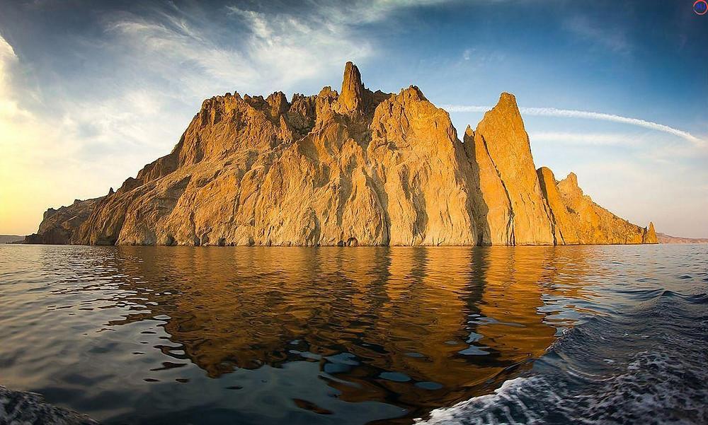 بركان كاراداغ في شبه جزيرة القرم الروسية
