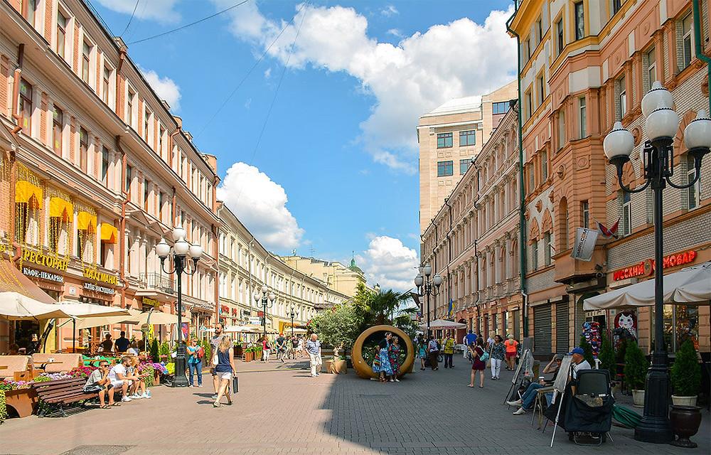 شارع أرباط في مدينة موسكو