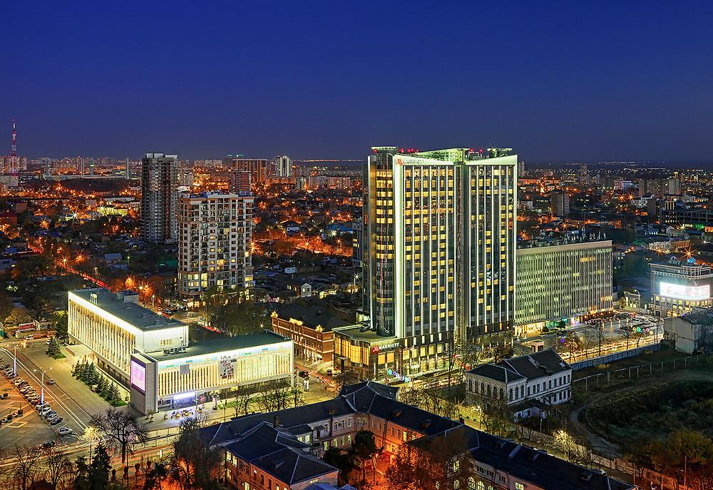 فنادق في مدينة كراسنودار الروسية
