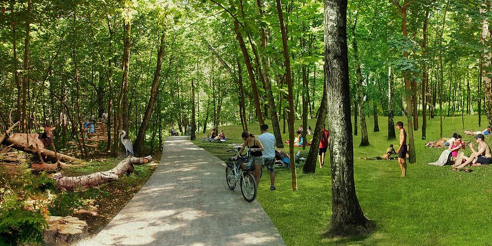 الحدائق في روسيا مكان مناسب للاستجمام