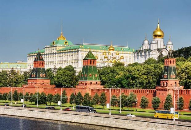 الكرملن في مدينة موسكو