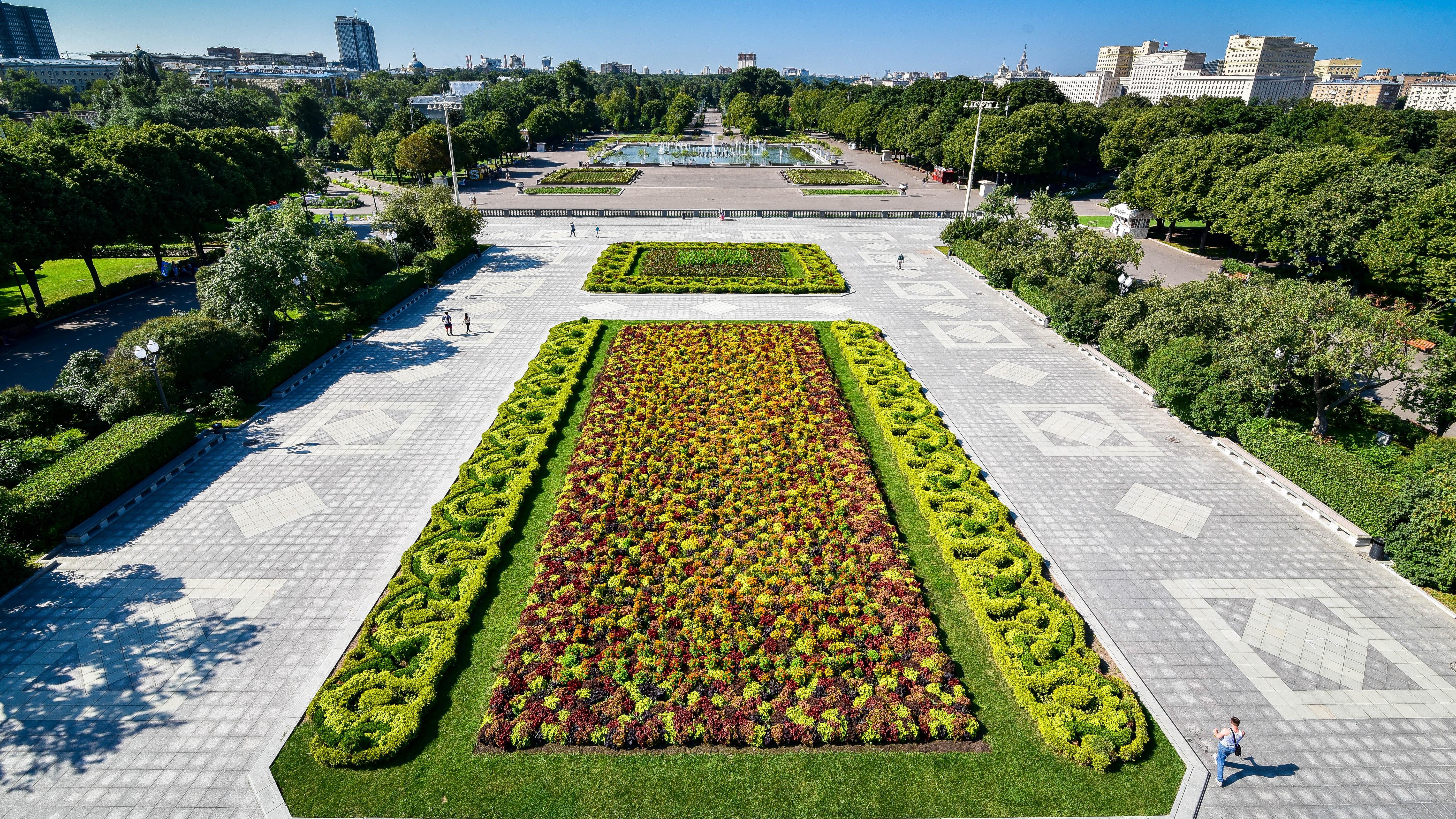 حديقة غوركي في موسكو