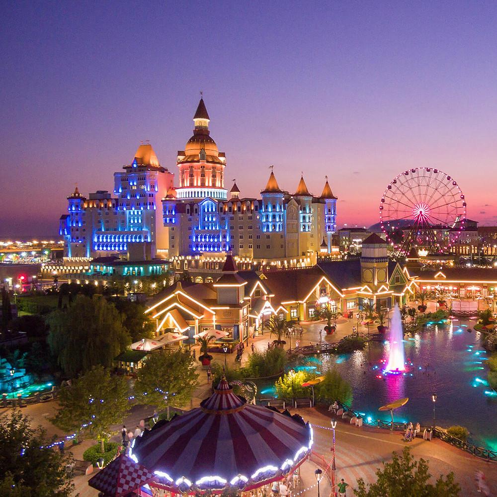 مدينة سوتشي الروسية