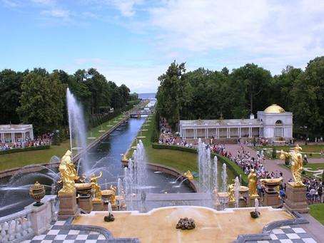 حدائق روسيا هي الاجمل في العالم