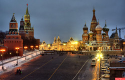 روسا, موسكو, الميدان الاحمر
