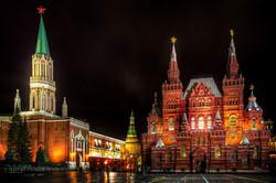 مبنى المتحف في موسكو