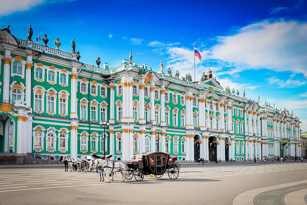الارميتاج هو اهم متحف في روسيا و ثاني اهم متحف في العالم.