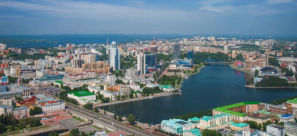 الطبيعة في مدينة يكاترينبورغ الروسية
