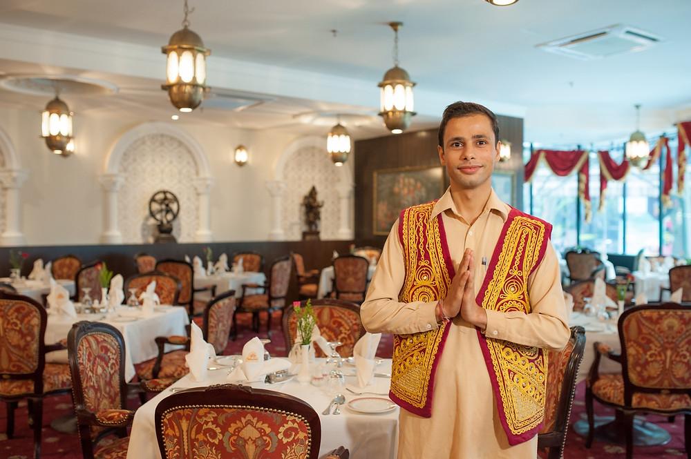 مطعم هندي في مدينة موسكو
