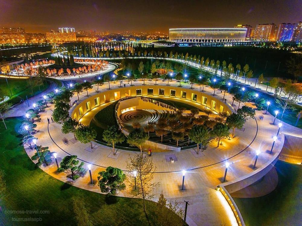 كراسنودار بارك في روسيا مدينة كراسنودار