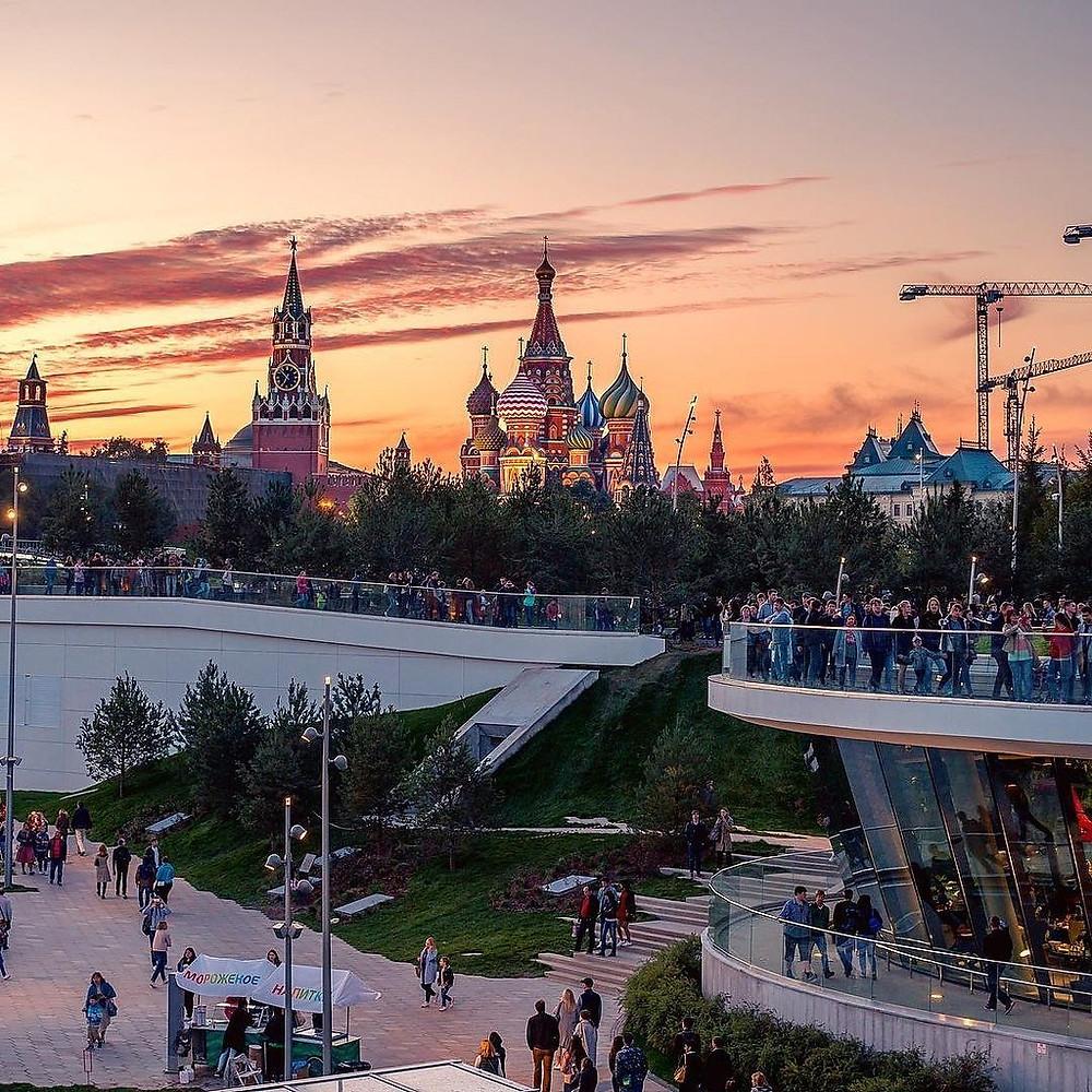 مدينة موسكو, العاصمة الادارية لدولة روسيا الاتحادية