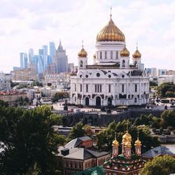 معبد وسط موسكو