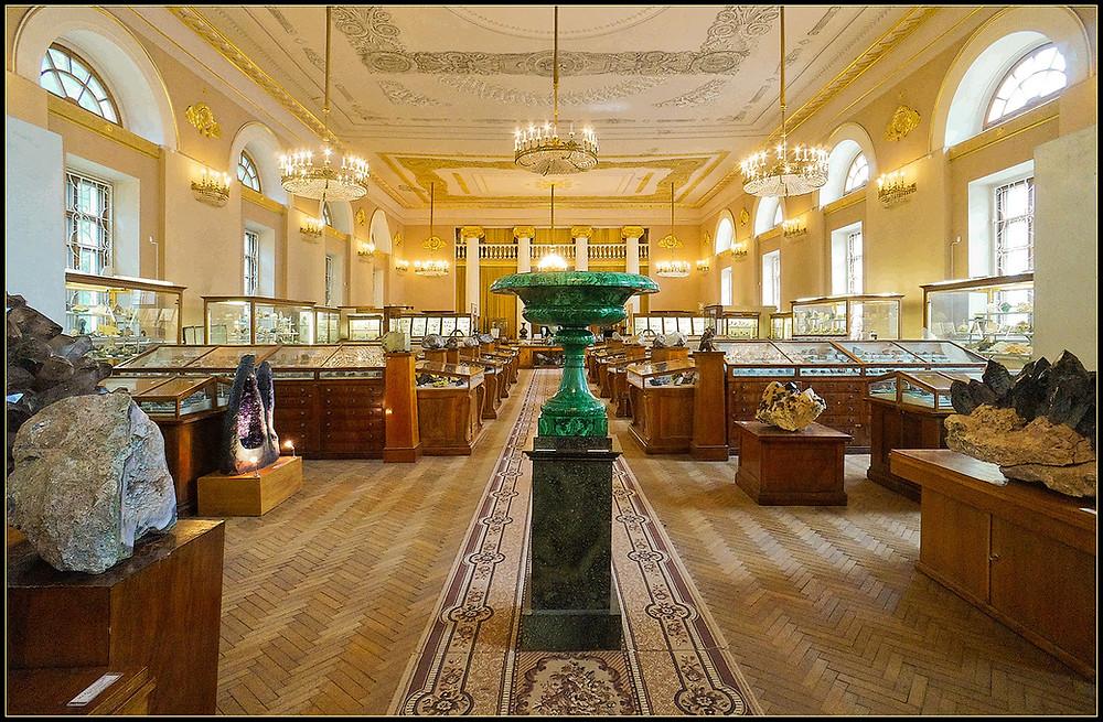 متحف مينيرالوجي يكاترينبورغ