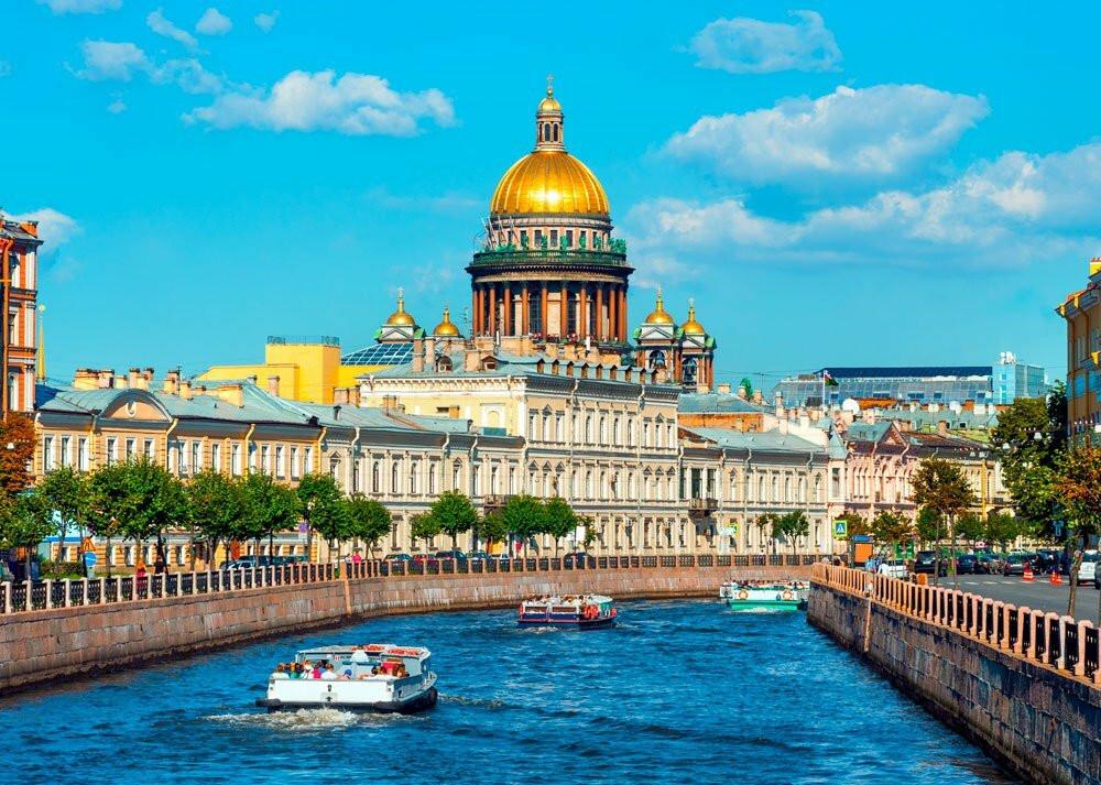 مدينة سانت بطرسبورغ ثاني اكبر مدن روسيا