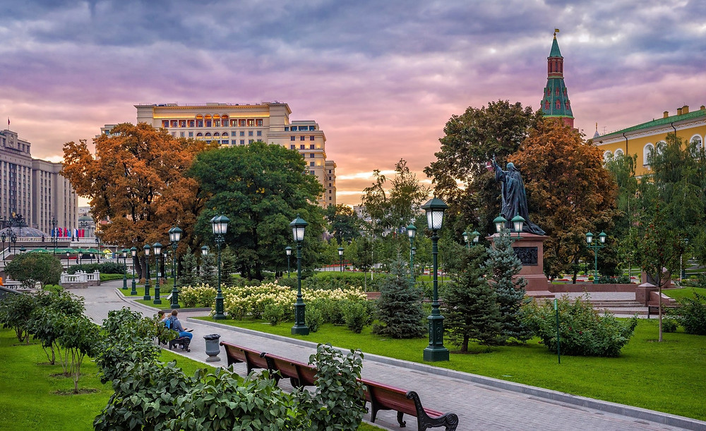 حديقة اليكساندر في موسكو