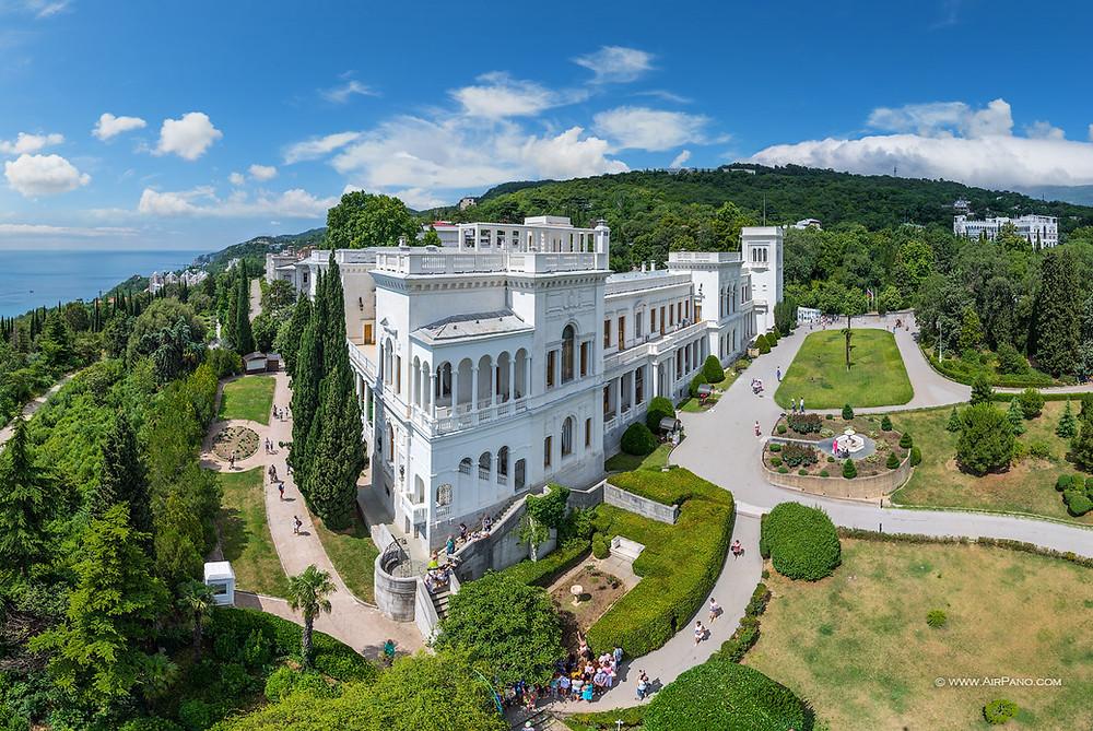 قصر ليفاديا في شبه زيرة القرم الروسية