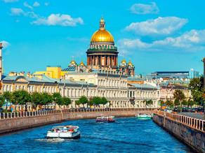 السياحة في سانت بطرسبورغ!