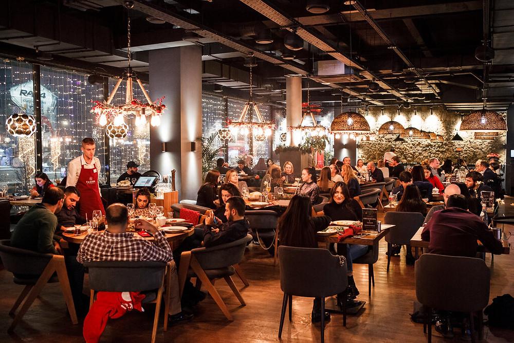 مطعم تركي في موسكو