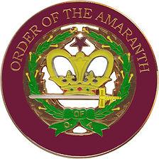 Most Worshipful Smooth Ashlar Grand Court of Amaranth Honored Lady Joyce Thomas Grand Royal Matron