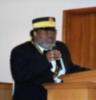 Sir. Knight Eric D. Carter, Sr. Right Eminent Grand Commander
