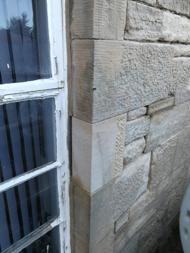New stone instated