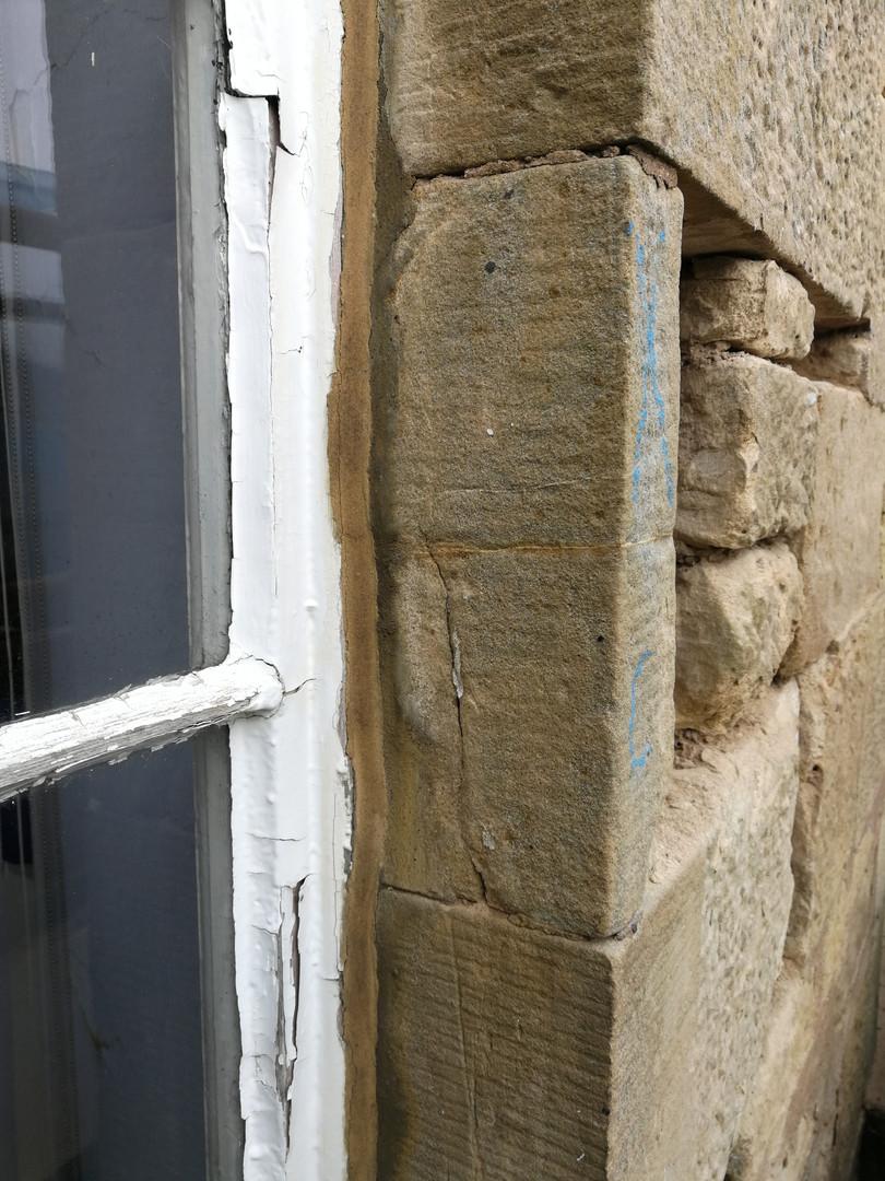 Replacing decayed masonry elements