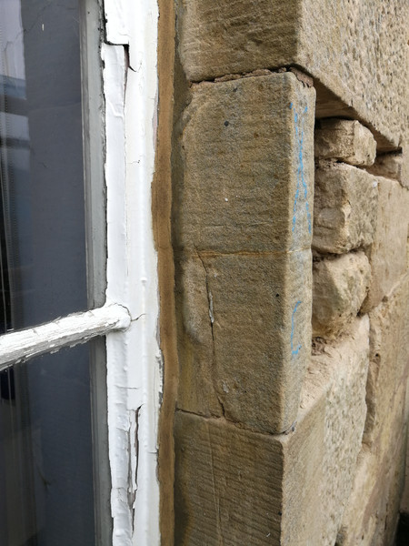 Replacing decayed masonry elements