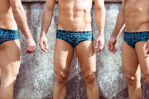 Pantaloneta de Baño Life is WaterAzul