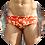 Thumbnail: Pantaloneta de Baño Cuadritos Naranja