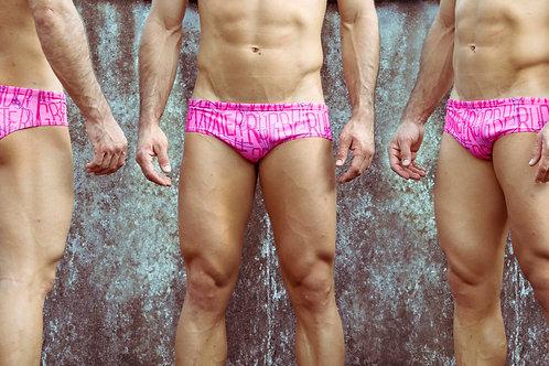 Pantaloneta de Baño Underwater Rugby Rosada