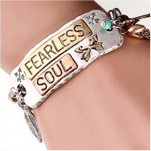 Women S Bohemian Charm Fearless Bracelet