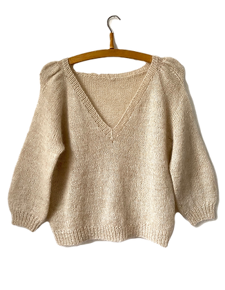 Casia Sweater V-neck PDF norwegian version