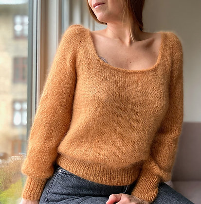 Casia Sweater Square-neck PDF danish version