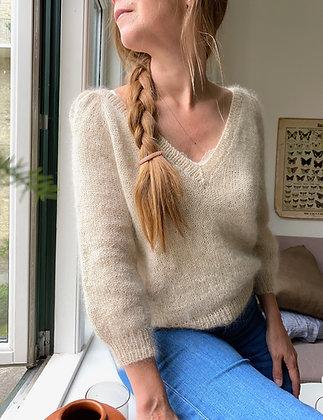 Casia Sweater V-neck PDF danish version