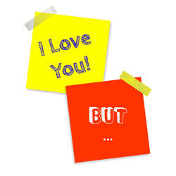 I love you but