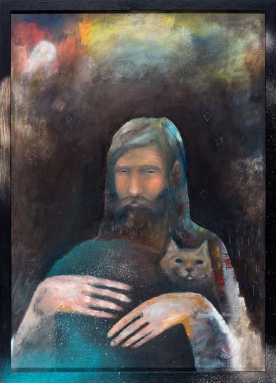Man och Katt