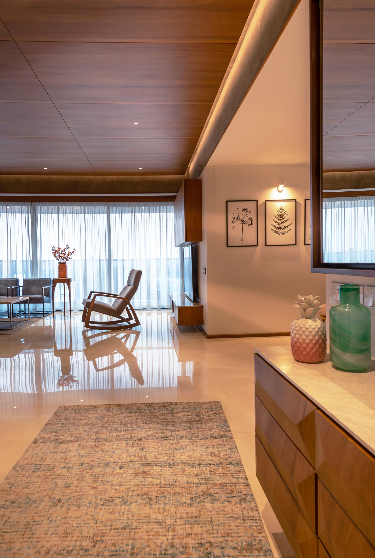 Foyer - Living view
