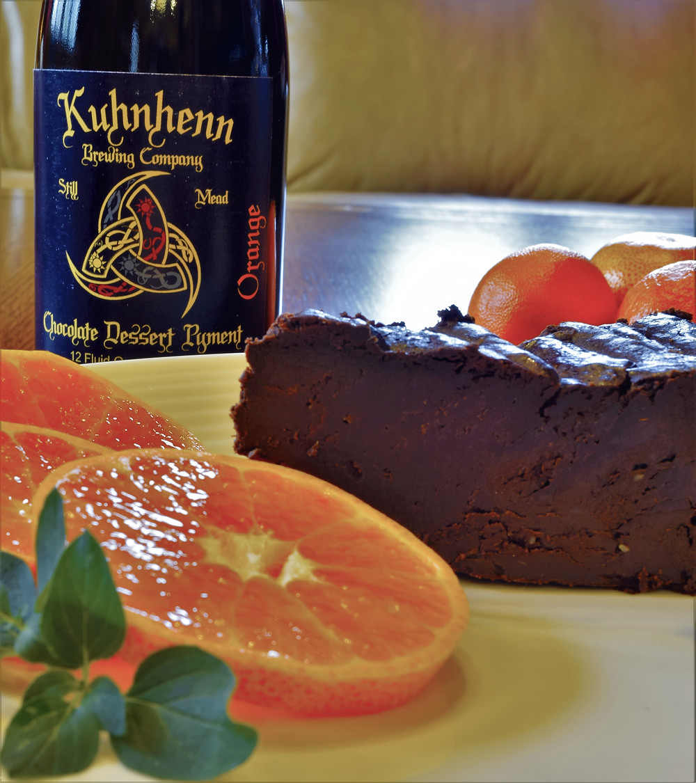 Kuhnhenn mead pairing chocolate cake
