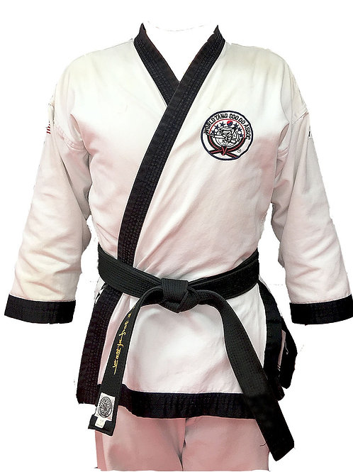 White Black Belt Uniform