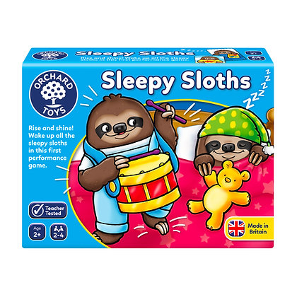 ORCHARD TOYS-SLEEPY SLOTHS (MULT)