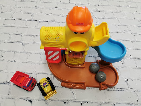 Construction avec camion Fisher price