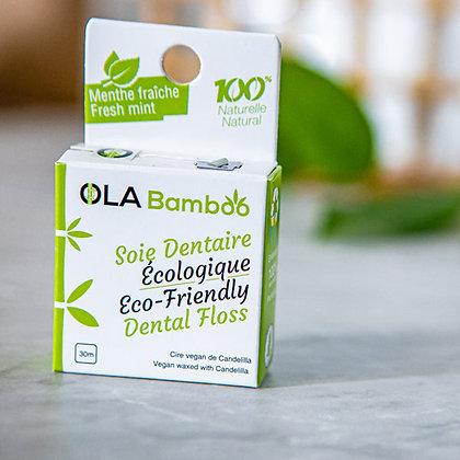 Ola Bamboo - Soie dentaire écologique