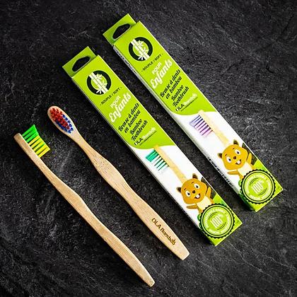 Ola Bambou - Brosse à dents pour enfant