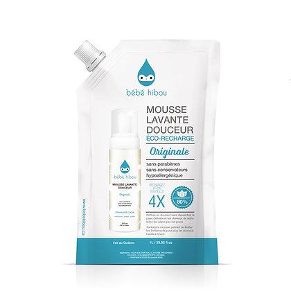 Bébé Hibou-Eco Refill savon mousse corps et cheveux ORIGINALE 1 Litre