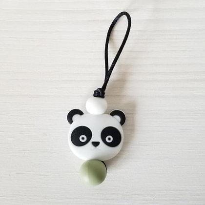 Zip à fermeture éclair - Panda Sauge