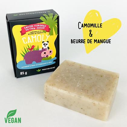 Savon Camomille et beurre de mangue Bambou d'Chou