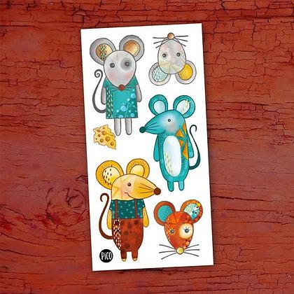 Pico-Mimi la souris et ses amis