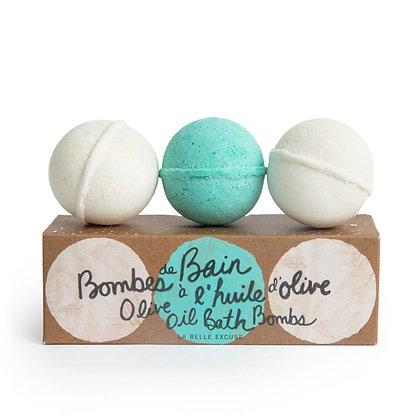 LOLO - Bombes de Bain à l'huile d'olive